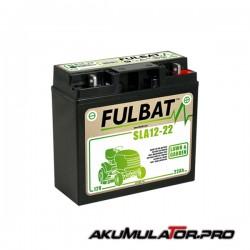 Акумулатор FULBAT SLA12-22 12V 22Ah R+