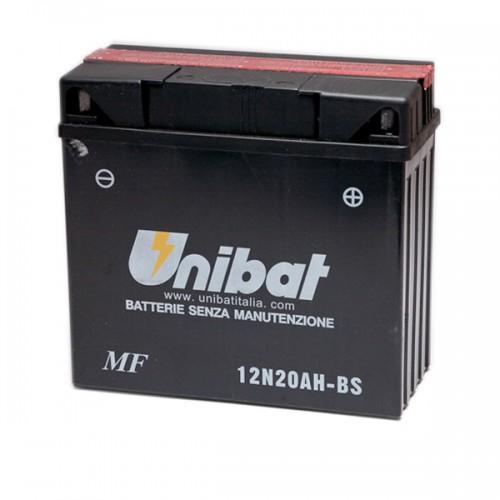 Акумулатор UNIBAT 12N20AH-BS (CP18-12) - 12 V / 20 Ah / R +