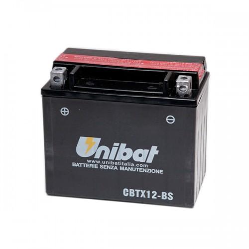 Акумулатор UNIBAT CBTX12-BS - 12 V / 10 Ah / L +