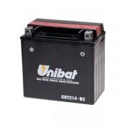 Акумулатор UNIBAT CBTX14-BS - 12 V / 12 Ah / L +