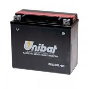 Акумулатор UNIBAT CBTX20L-BS - 12 V / 18 Ah / R +