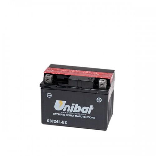 Акумулатор UNIBAT CBTX4L-BS - 12 V / 3 Ah / R +