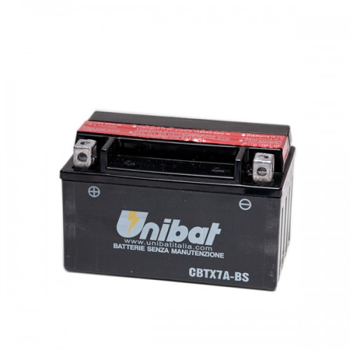 Акумулатор UNIBAT CBTX7A-BS -12 V / 6 Ah / L +
