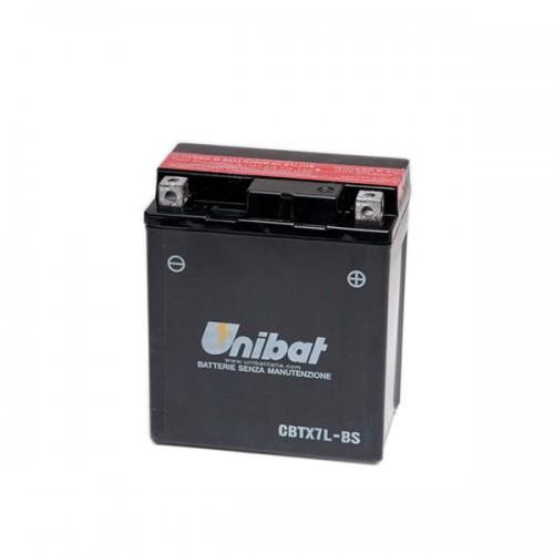 Акумулатор UNIBAT CBTX7L-BS - 12 V / 6 Ah / R +