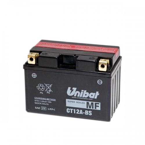 Акумулатор UNIBAT CT12A-BS-12 V / 10 Ah / L+