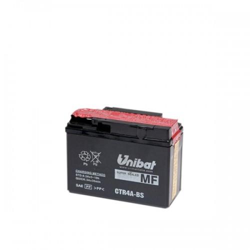 Акумулатор UNIBAT CTR4A-BS-12V / 2.3Ah / R+
