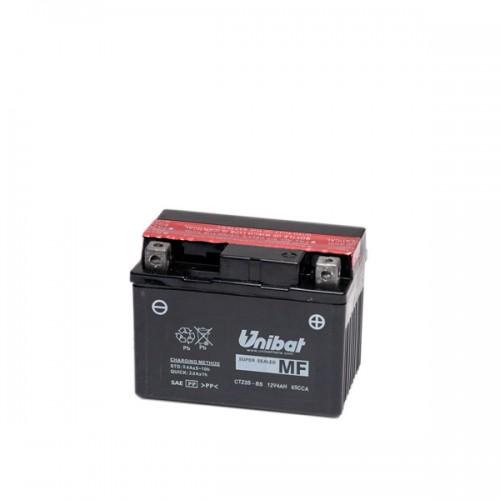 Акумулатор UNIBAT CTZ5S-BS-12V / 4Ah / R+