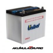 Акумулатор UNIBAT 12N24-3 - 12 V / 24 Ah R+