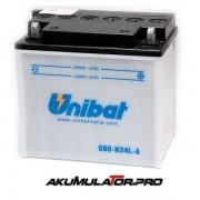 Акумулатор UNIBAT C60-N24L-A - 12 V / 28 Ah R+