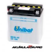 Акумулатор UNIBAT CB10L-A2 - 12 V / 12 Ah R+
