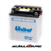 Акумулатор UNIBAT CB10L-B-P - 12 V / 12 Ah R+