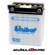 Акумулатор UNIBAT CB12A-A - 12 V / 12 Ah L+