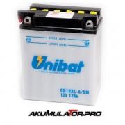 Акумулатор UNIBAT CB12AL-A-SM - 12 V / 12 Ah R+