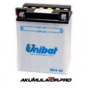 Акумулатор UNIBAT CB14-A2 - 12 V / 14 Ah L+