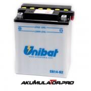 Акумулатор UNIBAT CB14-B2 - 12 V / 14 Ah L+