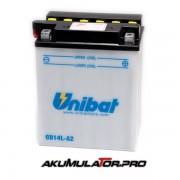 Акумулатор UNIBAT CB14L-A2-SM - 12 V / 14 Ah R+