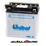 Акумулатор UNIBAT CB9L-A2 - 12 V / 9 Ah R+