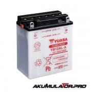 Акумулатор YUASA YB12AL-A 12V 12.6Ah R+