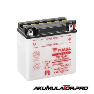 Акумулатор YUASA YB7L-B 12V 8.4Ah R+