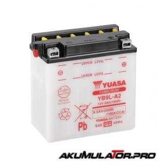 Акумулатор YUASA YB9L-A2 12V 9.5Ah R+