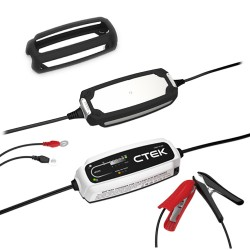 Зарядно CTEK CT5 TIME TO GO 12V / 5A + Силиконов протектор