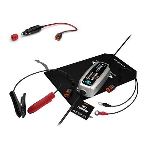 Зарядно CTEK MXS5.0 TEST&CHARGE 12V / 5.0A  + Конектор запалка