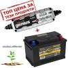Зарядно NOCO G3500 3.5A 6/12V с акумулатор ELECTRA 72H17 72Ah 680 A R+