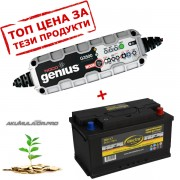 Зарядно NOCO G3500 3.5A 6/12V с акумулатор ELECTRA 85H17 85Ah 780A R+