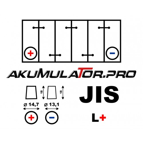 Акумулатор BANNER PowerBull P4027 (JIS/Asia L+) - 40 Ah