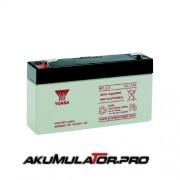 Акумулатор YUASA NP1.2-6 - 1.2 Ah / 6 V