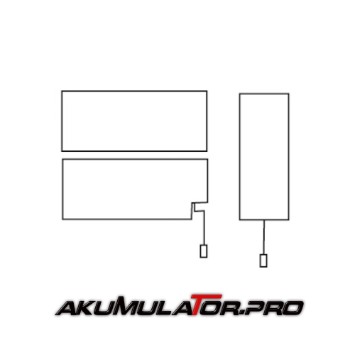 Акумулатор YUASA NP0.8-12 - 0.8 Ah / 12 V