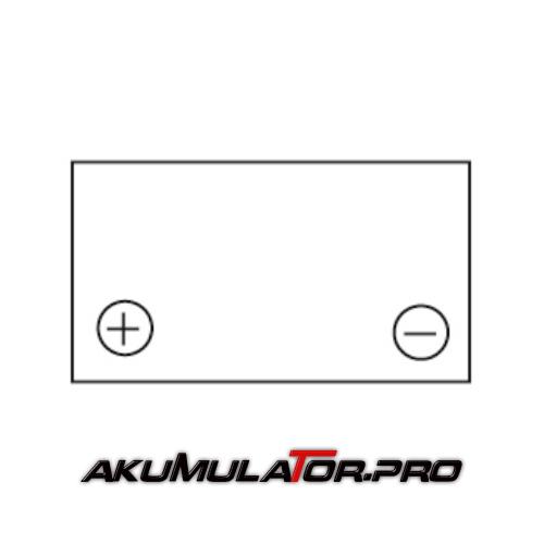 Акумулатор YUASA NP4-12 - 4 Ah / 12 V