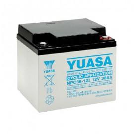 Батерии VRLA за индустрията и бита от YUASA - NPC Серия